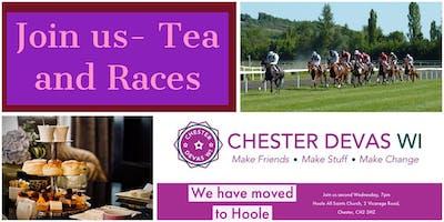 Traditional English Afternoon Tea and Racing