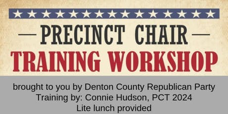 Precinct Chair Workshop tickets