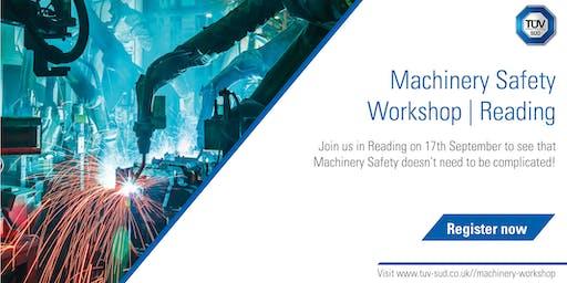 Machinery Safety Workshop | Reading