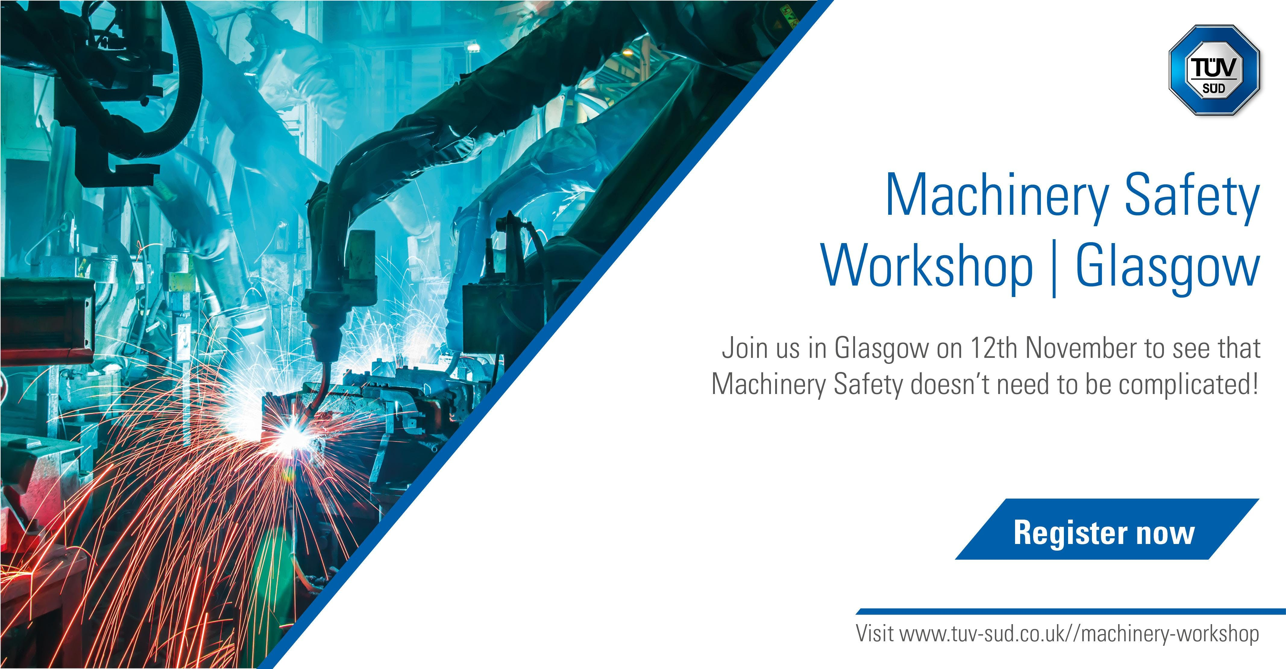 Machinery Safety Workshop | Glasgow