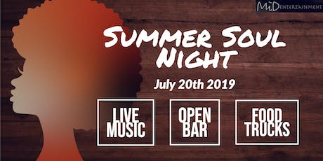 Summer Soul Night tickets