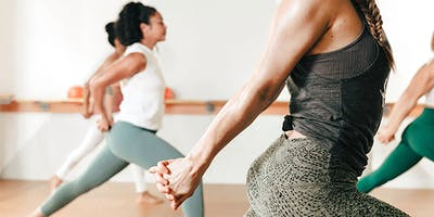 Barre3 class at The Power Lab