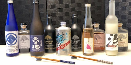 Sake, Soy Sauce and Sushi Flavor Explosion