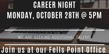 Career Night for Real Estate Agents - Fells Point 10-28 tickets