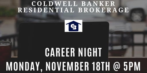 Career Night for Real Estate Agents - Fells Point 11-18