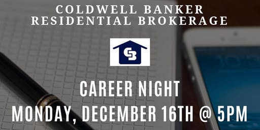 Career Night for Real Estate Agents - Fells Point 12-16