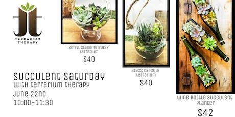 Succulent Saturday - Thomas Brendle Museum tickets