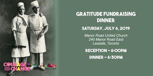 Gratitude Fundraising Dinner 2019