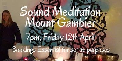 Sound Meditation ~ Mount Gambier