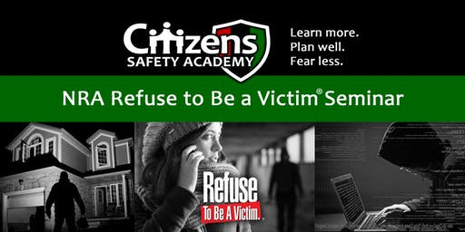Refuse to Be a Victim Seminar
