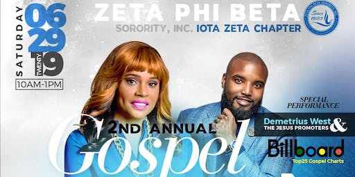 Iota Zeta 2nd Annual Gospel Brunch