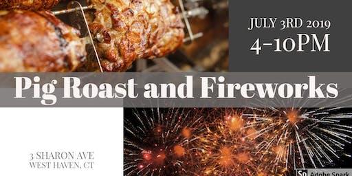 Pig Roast & Fireworks