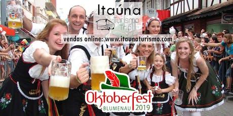Oktoberfest - Blumenau /SC 2019 - Excursão saindo de Belo Horizonte e São Paulo ingressos