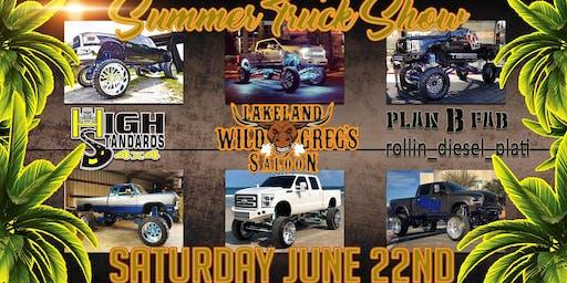 Summer Truck Show participant