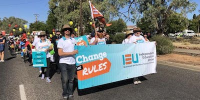 IEUA-QNT May Day Celebrations - Alice Springs