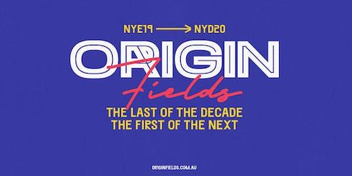 Origin Fields NYE19 ➜ NYD20
