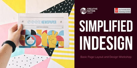 Simplified InDesign: Page Layout and Interactive Documents tickets