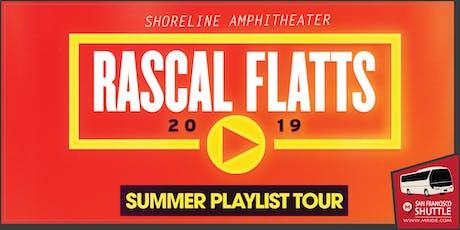 Rascal Flatts Concert Shuttle to Shoreline Amphitheater tickets