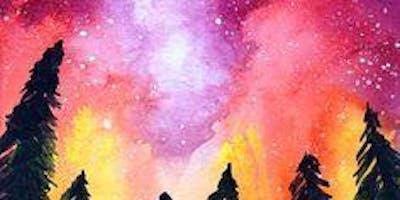 The Milky Way Night Sky - Art Class