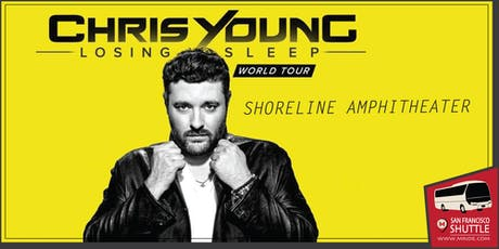 Chris Young Concert Shuttle to Shoreline Amphitheater tickets