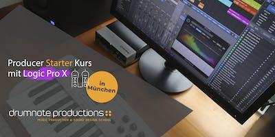 Producer Starter Kurs mit LOGIC PRO X
