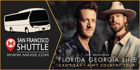 Florida Georgia Line Party Bus to Shoreline Amphitheater tickets