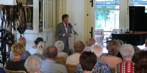 Zomerconcert Laurens van Rooyen in Koetshuis met rondvaart over de Vecht