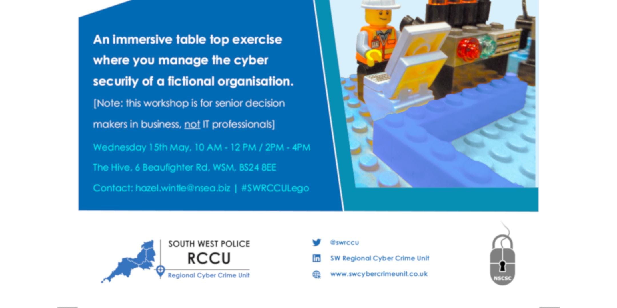 Decisions and Disruptions Cyber Workshop