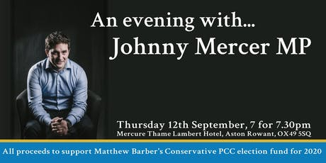 An evening with Johnny Mercer tickets