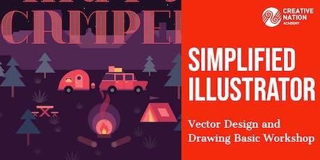 Simplified Illustrator: Vector Drawing Basics Workshop tickets