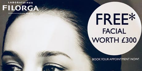 Filorga Discovery Facial (FREE as redeemable against products purchase) tickets