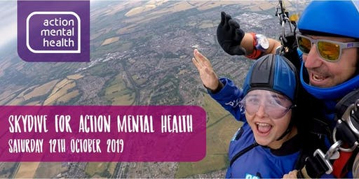 Skydive for World Mental Health Day