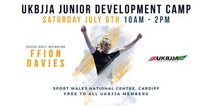 BJJ Cymru Wales (UKBJJA) Junior Development Camp...