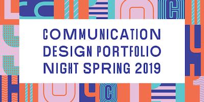 Communication Design Portfolio Night 2019