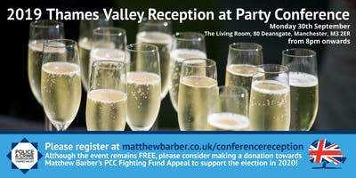 Party Conference Drinks Reception