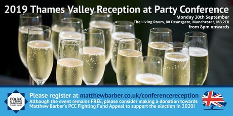 Party Conference Drinks Reception tickets