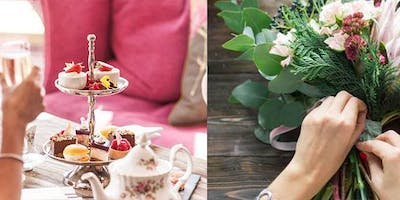 Flower Arranging with Afternoon Tea & Fizz