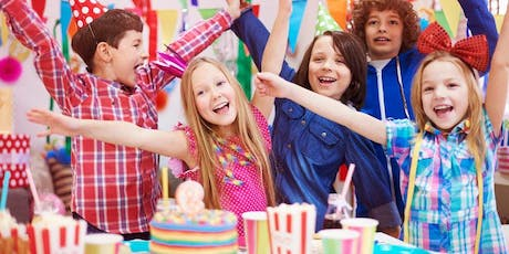 Kids Birthday  Art Party tickets