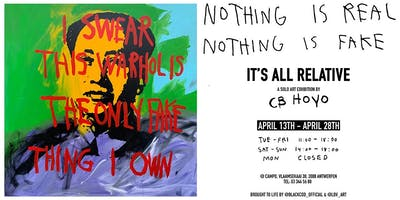 IT'S ALL RELATIVE by CB HOYO (Art exhibition)
