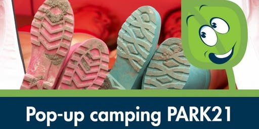 Pop-up camping PARK21