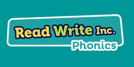 Read, Write Inc. Phonics for Nursery Training tickets