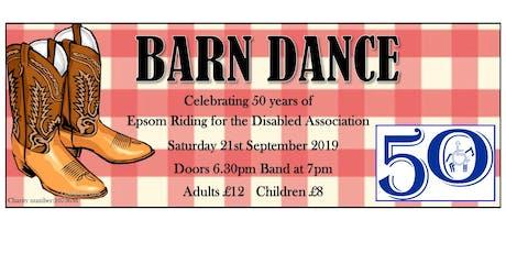 Epsom RDA Barn Dance 2019 tickets