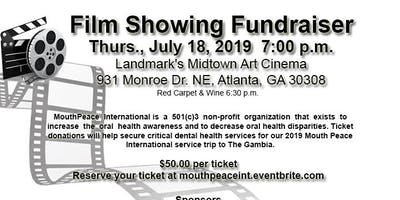 Mouth Peace International: Film Showing Fundraising Red Carpet Event