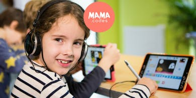MAMA.codes Creative Coding Class for kids 3-8 years