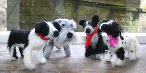 Little Needle Felted Dogs and Cats