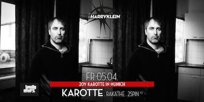 20Y Karotte in Munich w/ KAROTTE, Rakäthe, 2Spin