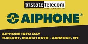 Aiphone Counter Day (Airmont NY) - March 26 2019