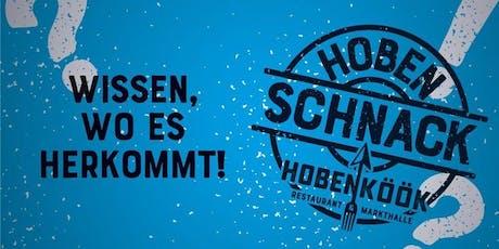 Hoben-Schnack *Wildbret* mit Jagdhaus Dellien Tickets
