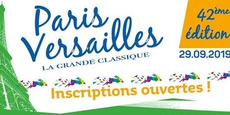 Paris - Versailles 16k - 2019 - Inscrição  billets