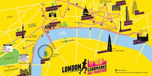London Landmarks Half Marathon 2020 - NDCS Charity Entry